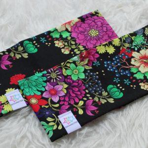 pannband flower blommor för vuxen och barn pannband med foder