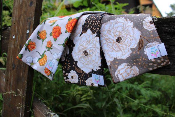pannband med rosor och hjortron