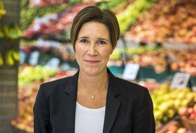 Kerstin Lindvall, hållbarhetsdirektör på ICA Gruppen