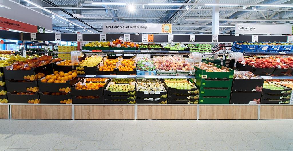 Lidl Frukt och Grönt Dagligvaruhandeln