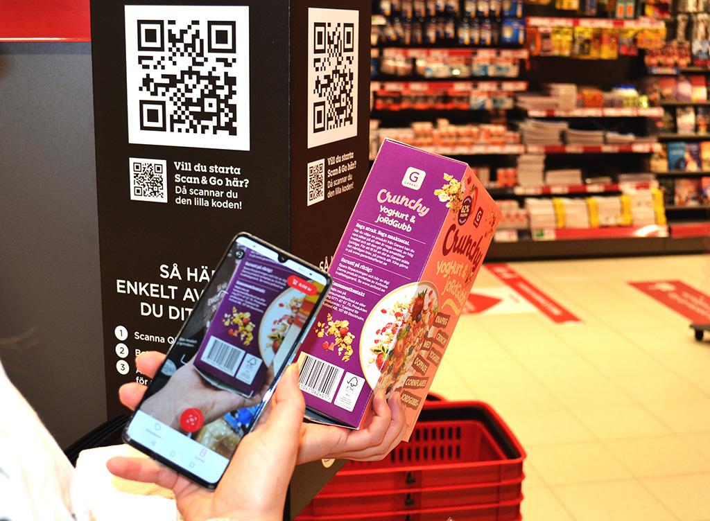 Willys självscanning i mobilen - Butiksnytt