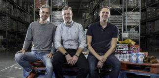 Matsmarts grundare Ulf Skagerström, Erik Södergren och Karl Andersson. Foto KG Z Fougstedt