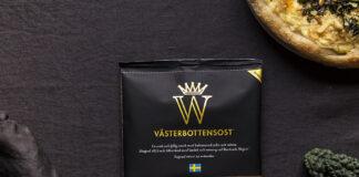 Nya riven förpackning Västerbottensost