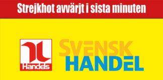 strejköver2020 mellan handels och svensk handel-nyhet - butiksnytt