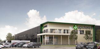 Apteket nytt e-handelslager i Eskilstuna