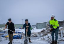 Första spadtaget för Polarbröd