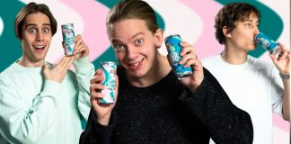 I Just Want To Be Cool lanserar en egen dryck