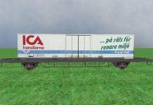 ICA byter till tåg