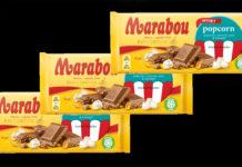 Marabou ny smak med popcorn