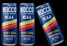 NOCCO ny produkt och smak Sunny Soda