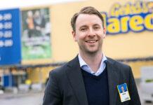 Patrik Levin tillträder som vd för Gekås Ullared