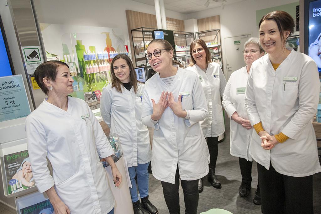 Apoteket Hjärtat i Kronoparken Umeå är utsedda till årets bästa apotek 2020.