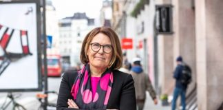 Karin Johansson VD svensk handel handelsbarometern