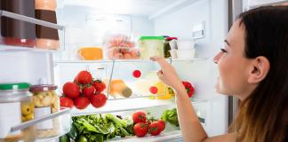 Mat i kylskåpet
