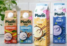 Ny förpackning från Planti, samma goda krämiga innehåll från Sveriges mest köpta växtbaserade gurt-märke