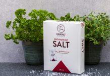 Falksalt grovkorningt salt får ny förpackning i hyllan