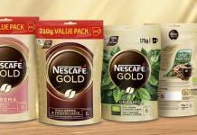 Nescafé Gold med ny refillförpackning – väger mindre och l