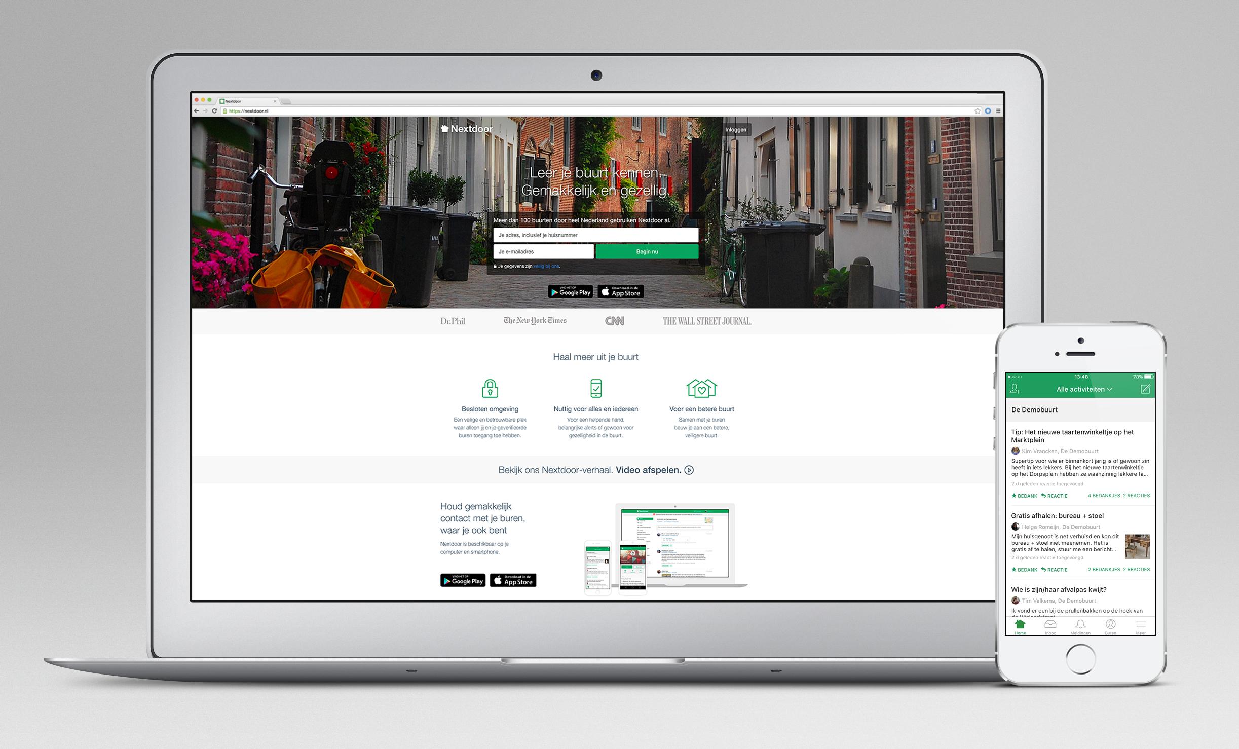 Graag willen wij u voorstellen aan Nextdoor