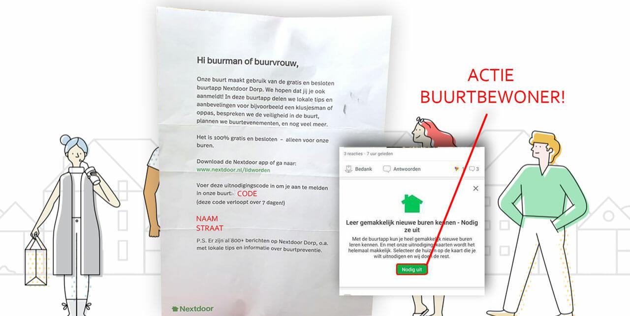 Ophef over brief Nextdoor onterecht!