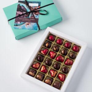 Handgjorda chokladpraliner