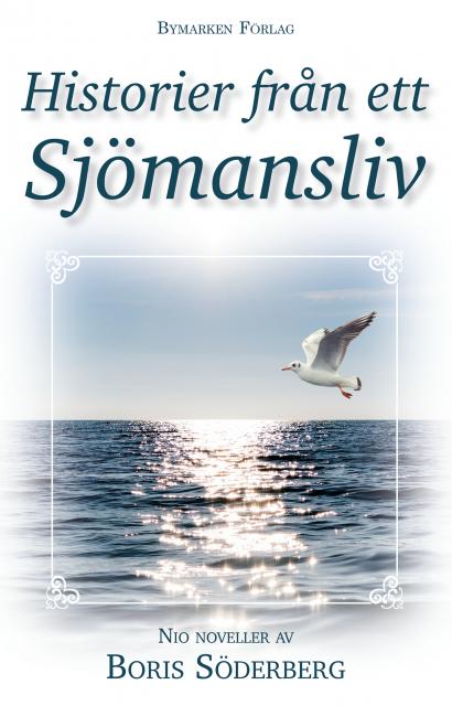 Bokomslag med en bild på en fiskmås som flyger över havet.