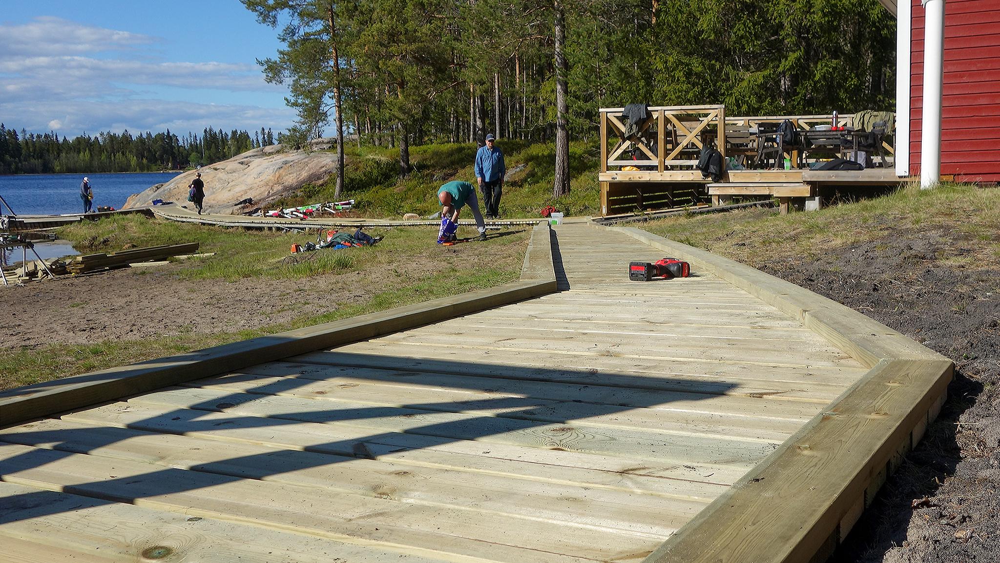 Arbetsdag på Halsön 2015-05-30