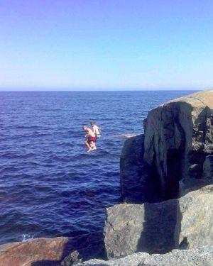 Bad på Hamnskär 2014-07