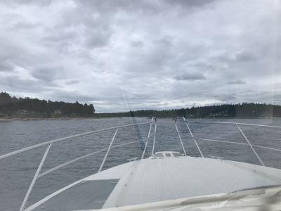 I en Fjord på väg till Halsön