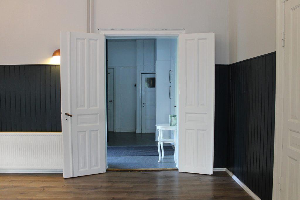 Indgangen til den store sal