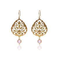 Smykker med mening - guld øreringe fra Ananda Soul hos byTrampenau