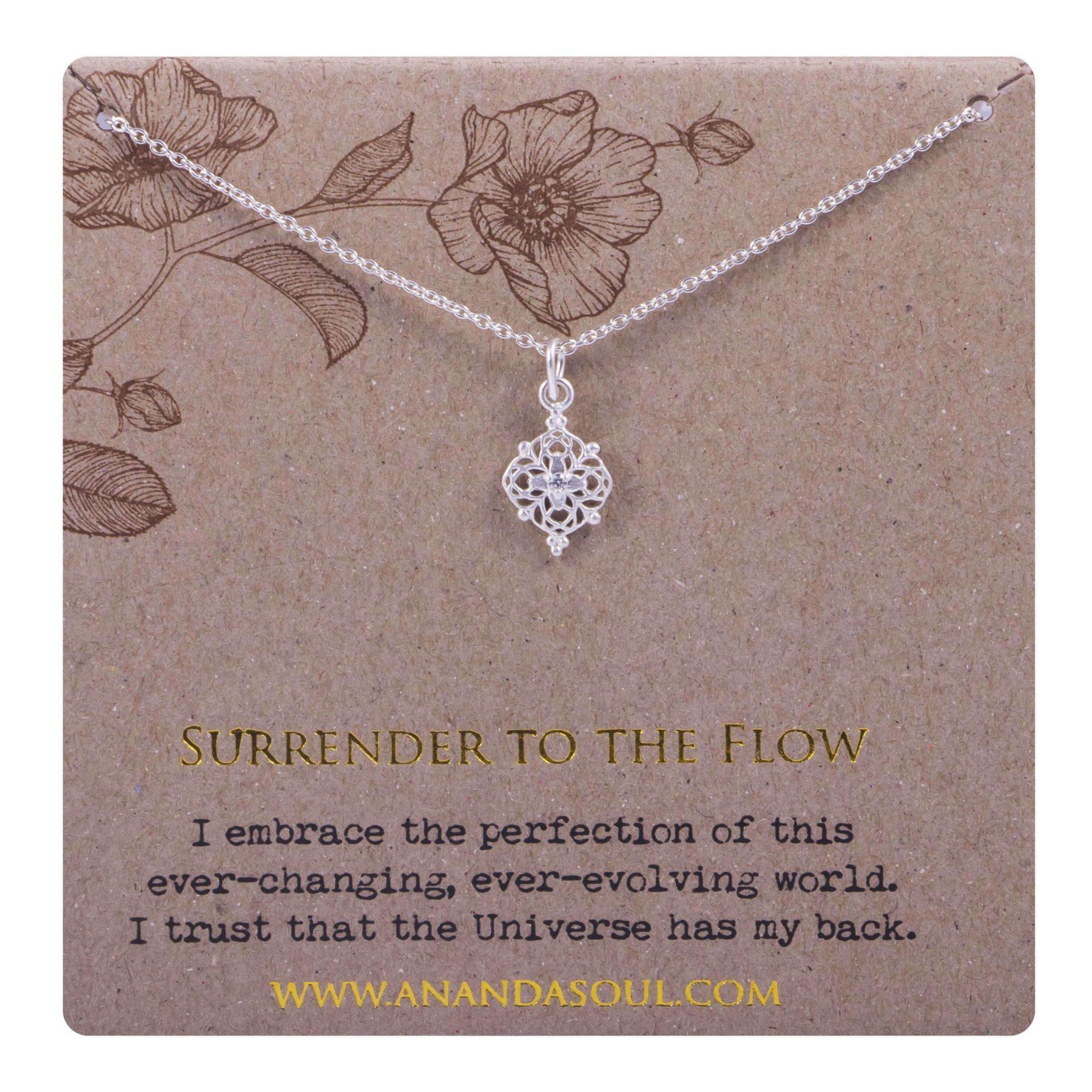 SURRENDER TO THE FLOW halskæde