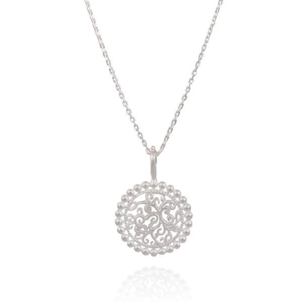 True Colors sølv halskæde