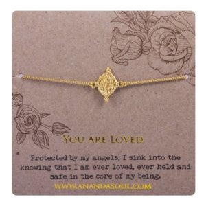 YOU ARE LOVED armbånd