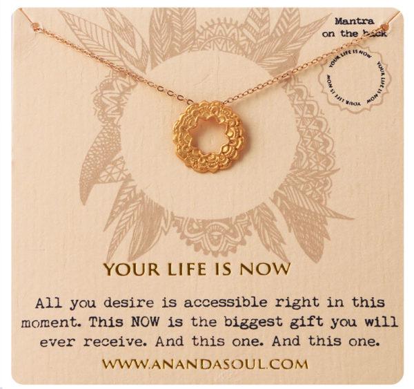 Your life is now halskæde