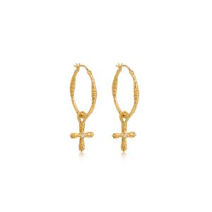 Smykker med mening - guldøreringe fra Ananda Soul