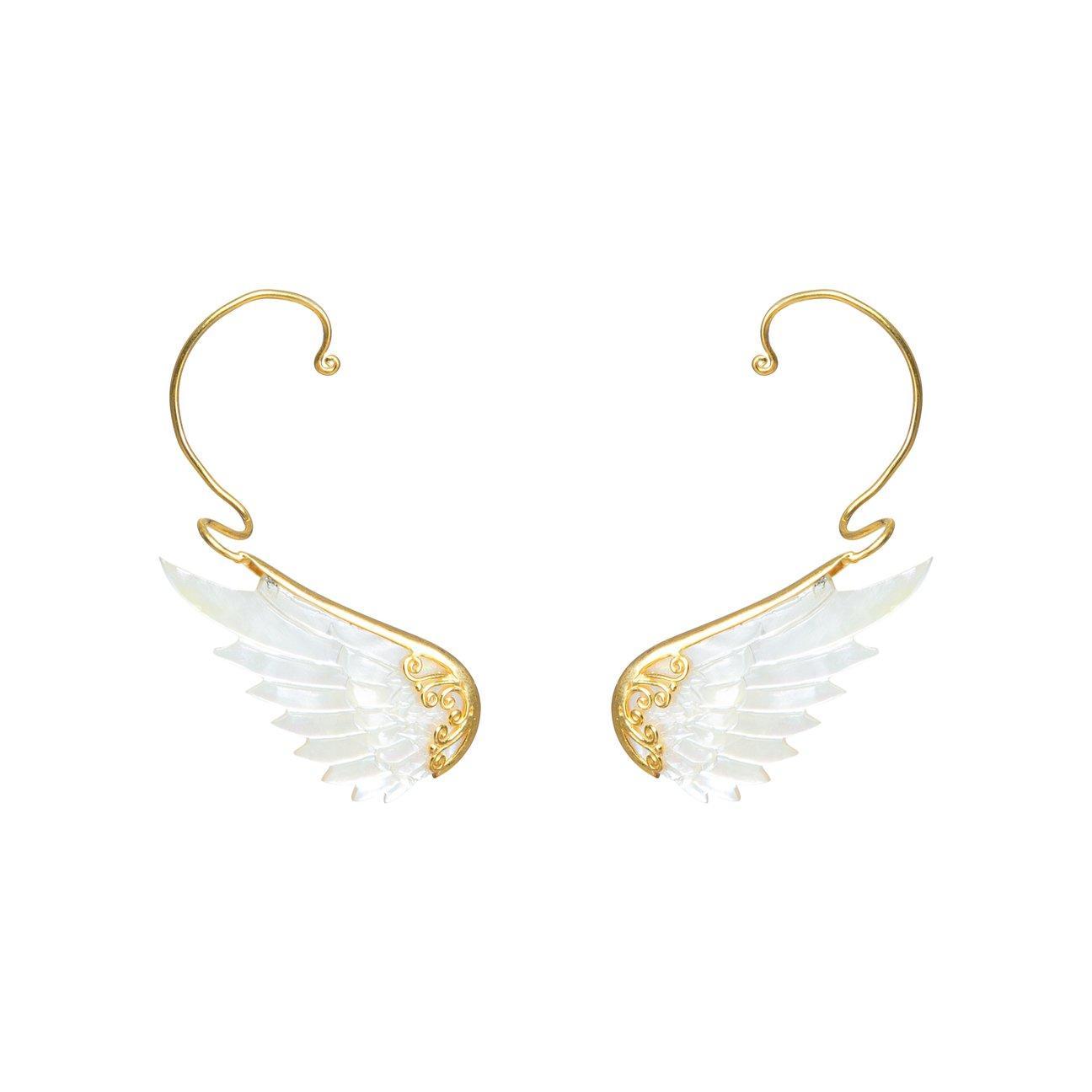 Smykker med mening - engleøreringe - earcuffs