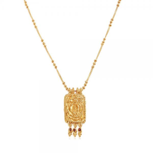 Proud to be Unique halskæde med Granat, fra Ananda Soul