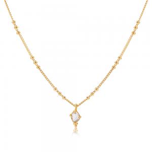 Smykker med mening - krystalhalskæde fra Ananda Soul hos byTrampenau