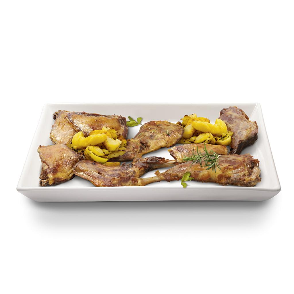 plato gourmet de cabrito al romero