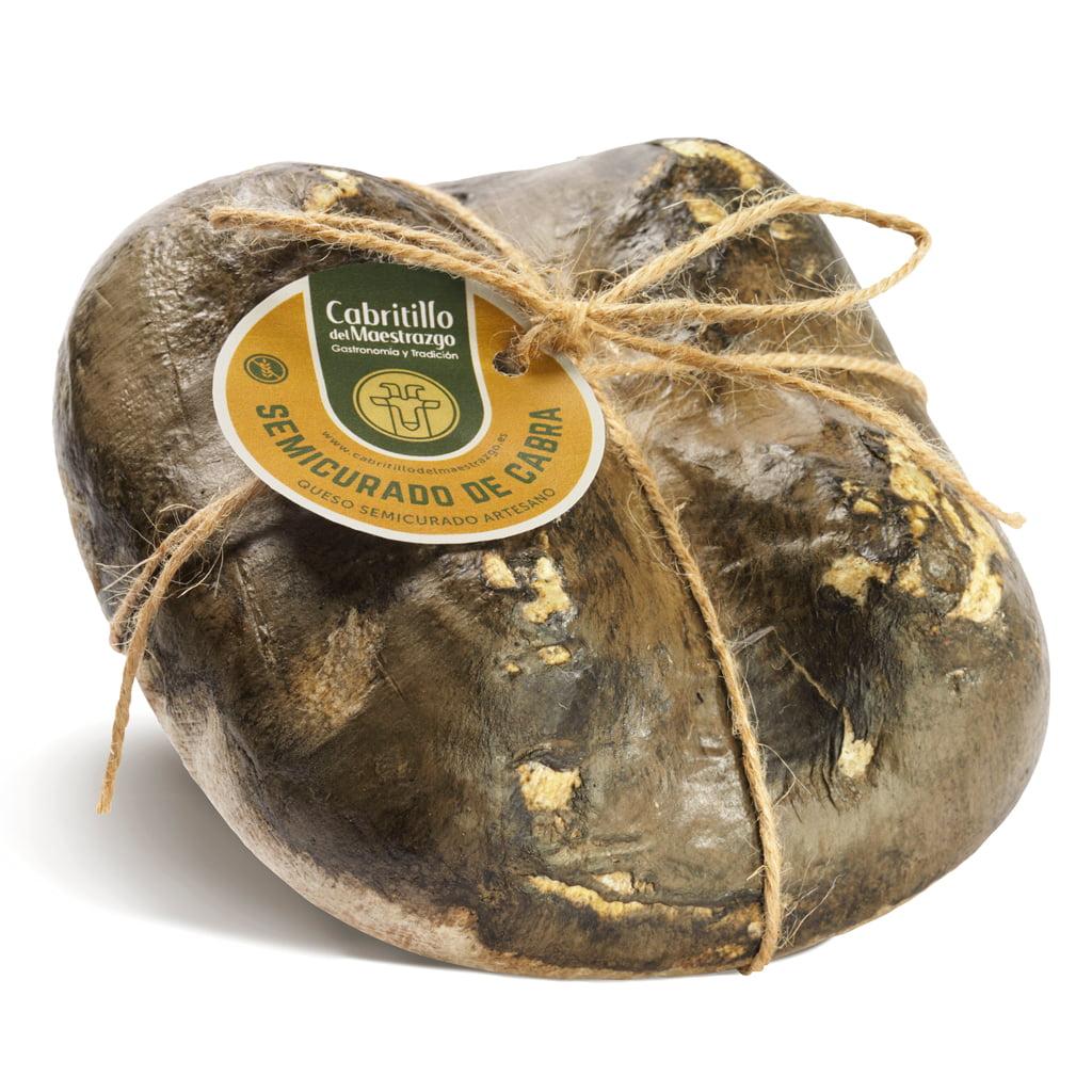 queso semicurado de cabra artesano