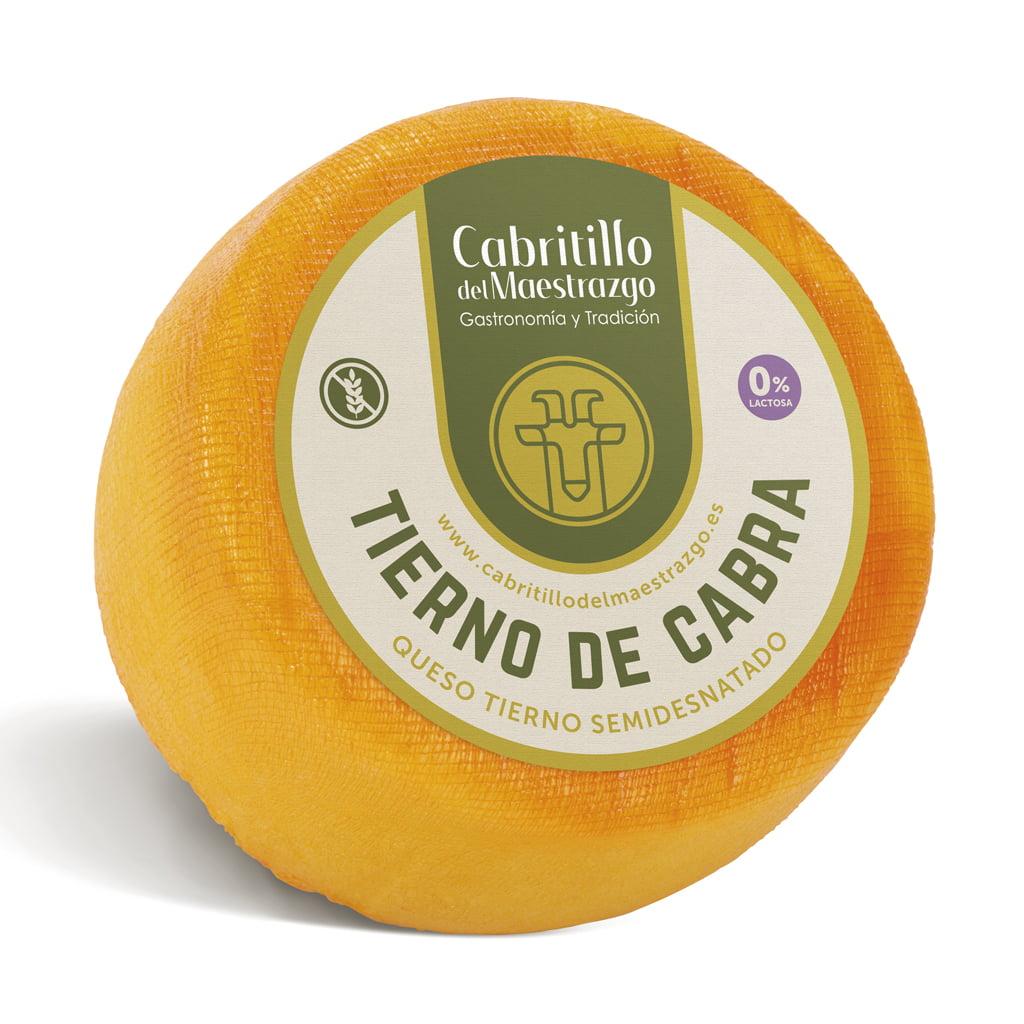 queso tierno de cabra sin gluten