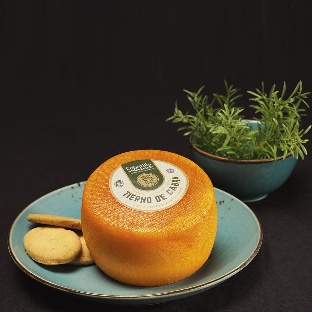 queso tierno de cabra sin lactosa