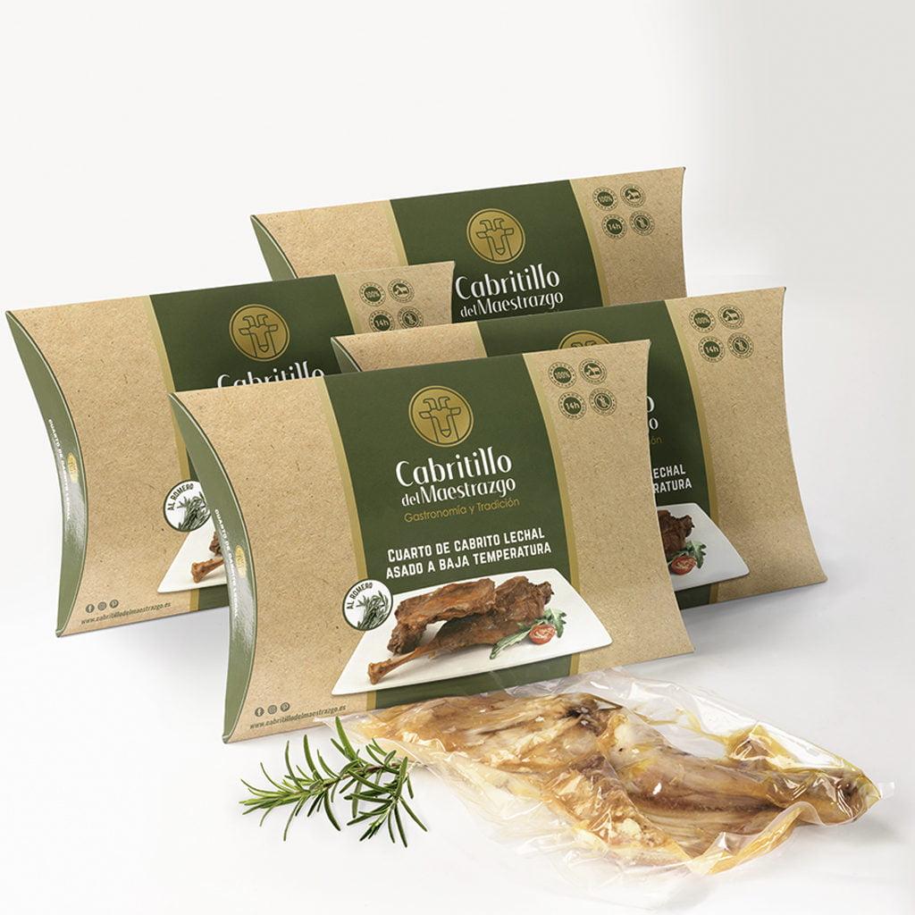 carne de cabrito al romero saludable