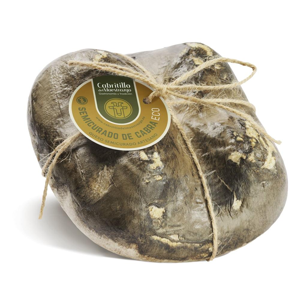 queso semicurado de cabra gourmet