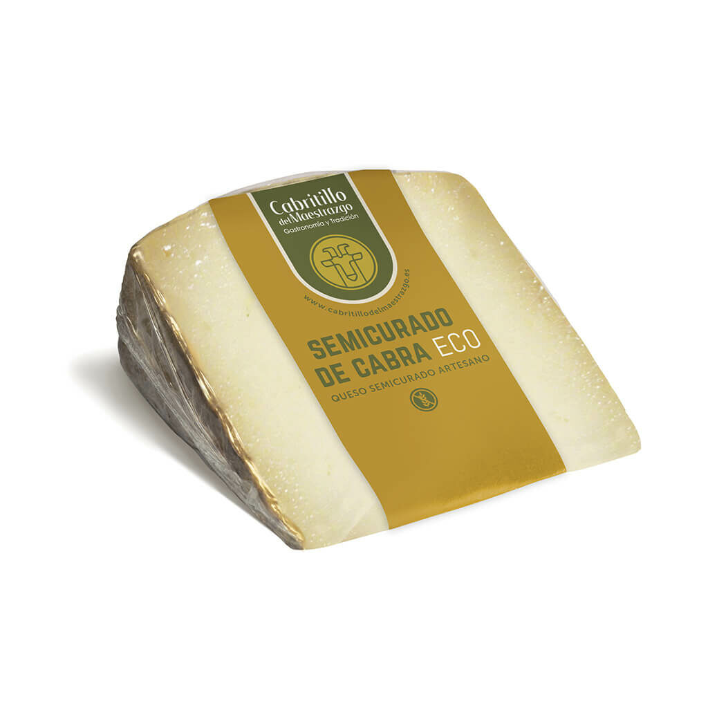 queso semicurado de cabra ecologico