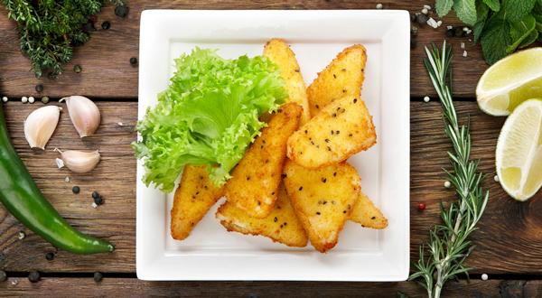 Como preparar queso semicurado frito