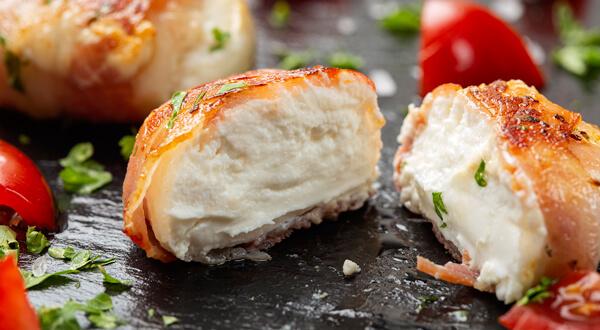 Roscon de queso y bacon