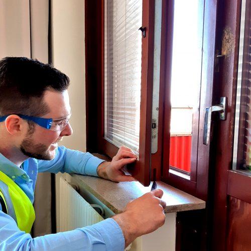 Besiktning fönster
