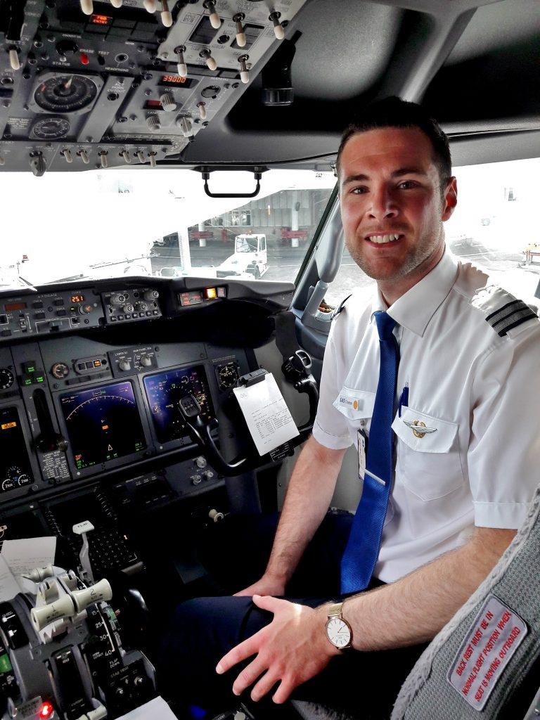 Carl Andersson SAS pilot