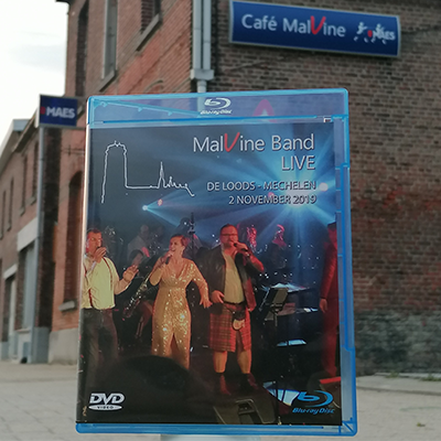 dvd / blu-ray box MalVine Band